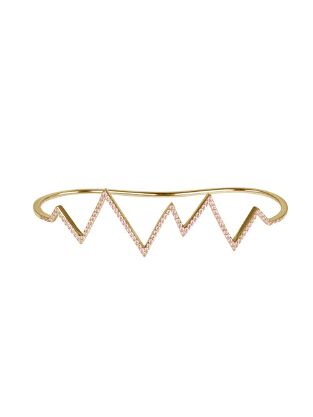 Rosie Fortescue Heartbeat Hand Cuff