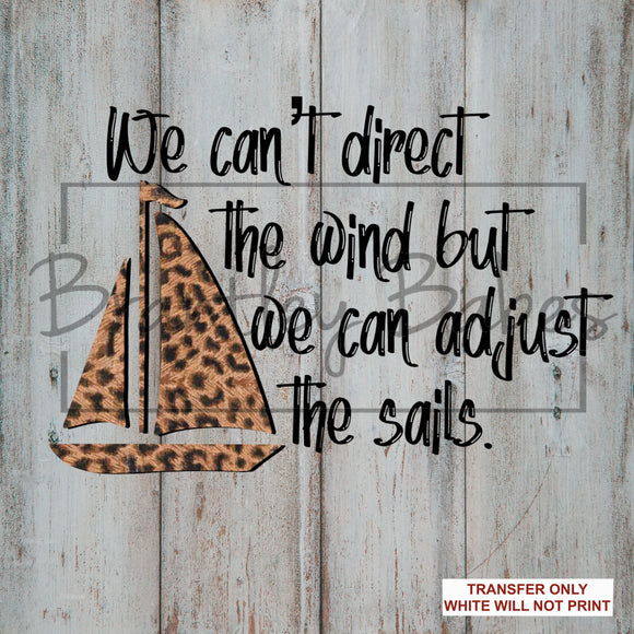 Direct the Sails Sublimation Transfer