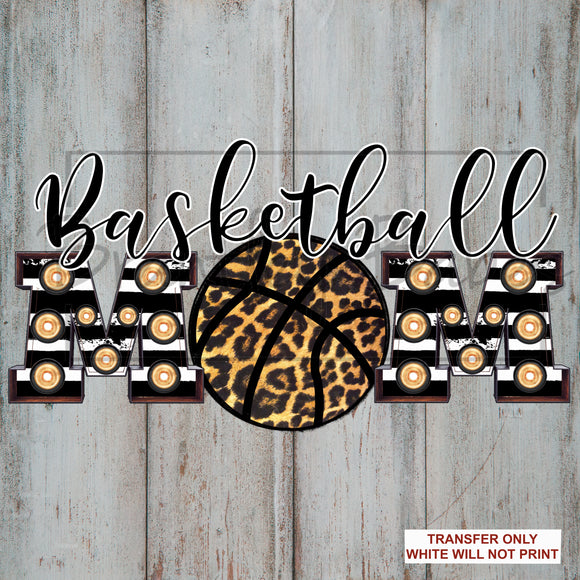 Leopard Basketball Mom Sublimation Transfer
