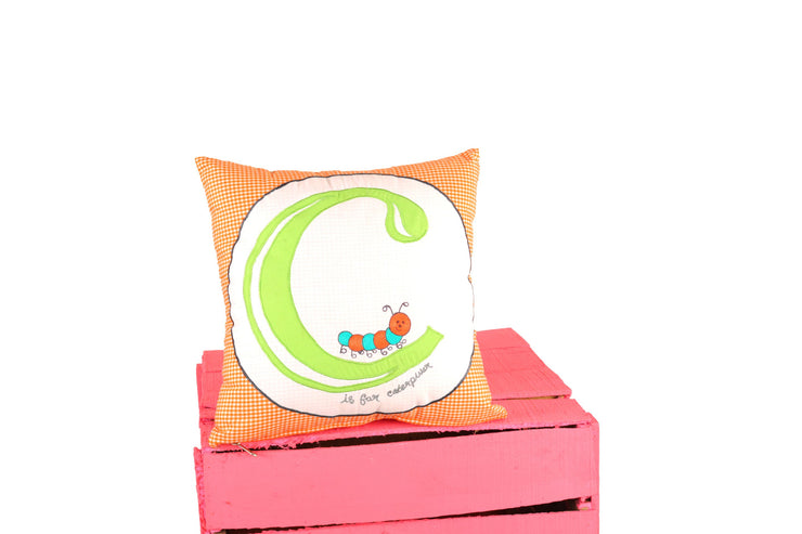 Letter C Alphabet Cushion for Kids