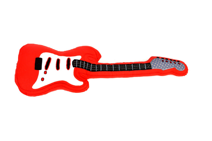Guitar Shaped Cushion for Kids