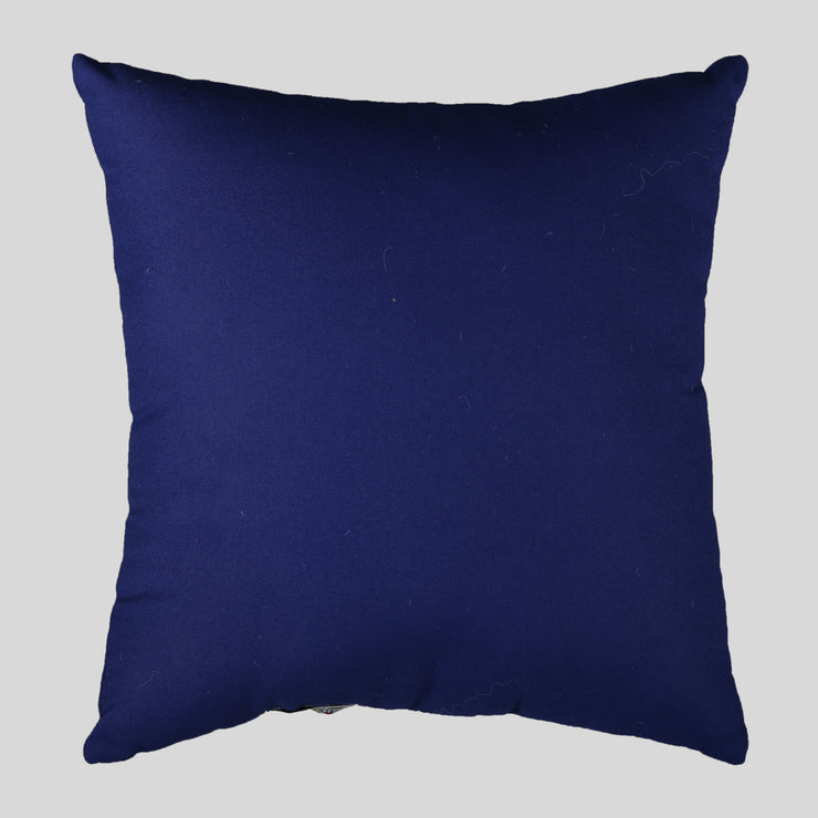 Navy Blue Cushion with Spiderman Motif