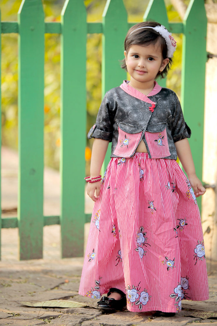 Candy Canes, Girls Ethnic Wear