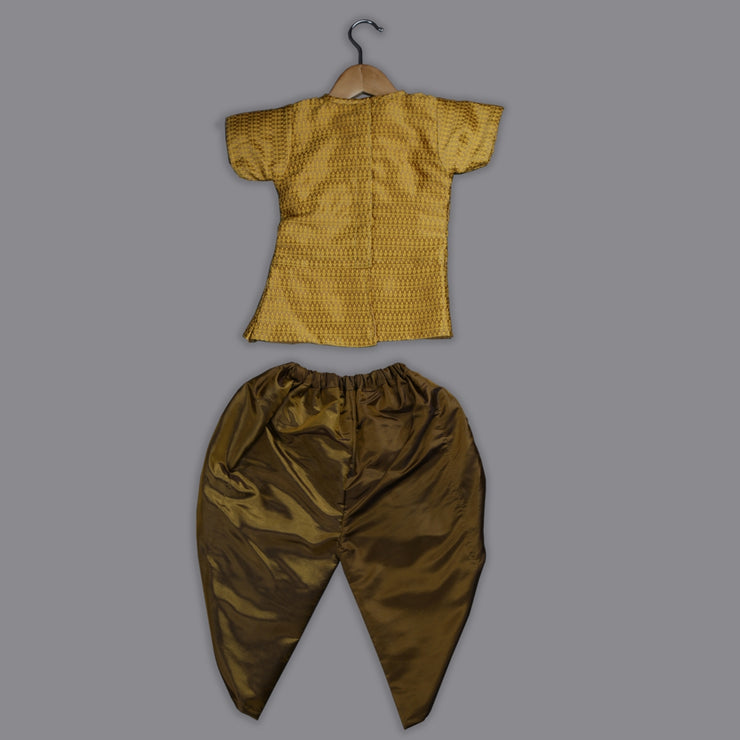Beautiful Princess - Top And Dhoti Pant Set For Girls