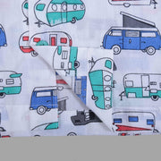 Car Print Nightwear Set for Boys