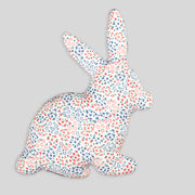 Multicoloured Rabbit Cushion For Kids