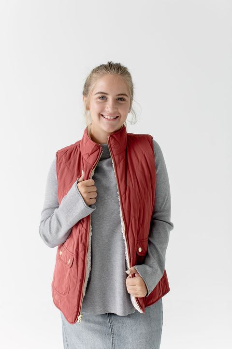 Reversible Vest in Rust