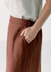 'Journey' Skirt in Russet