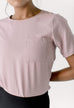 Manhattan Top in Muted Lilac