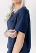 Manhattan Top in Navy