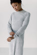 'Sasha' Sweater Dress in Grey