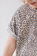 'Mila' Girl Leopard Print Dress