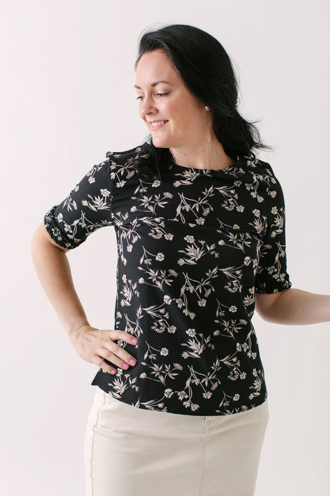 'Valorie' Floral Top