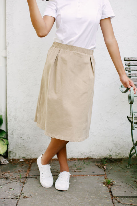 'Remy' School Uniform Skort