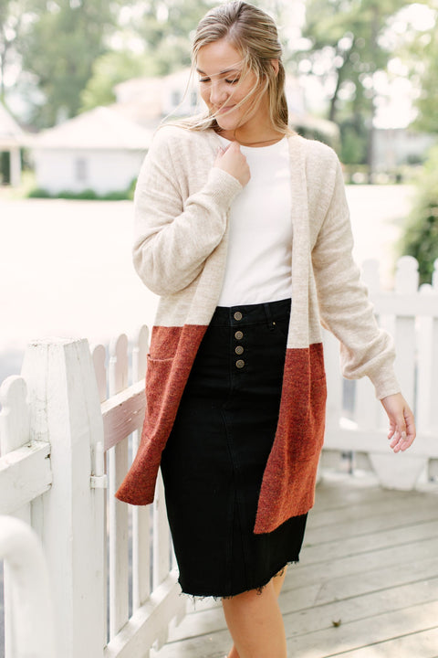 'Taylor' Colorblock Cardigan