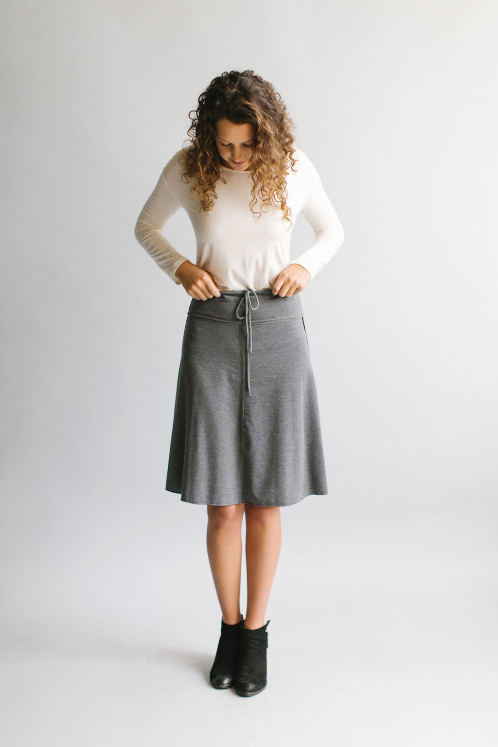 'Hana' Knee Length Skirt