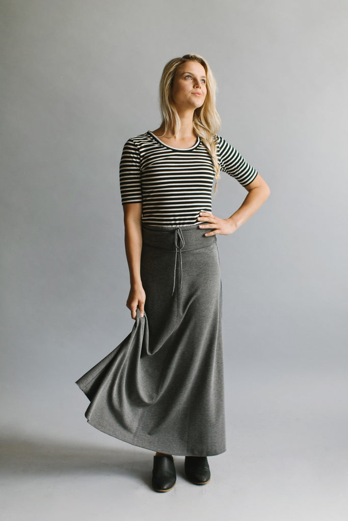 'Hana' Ankle Length Skirt