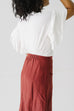 'Caris' Skirt in Marsala