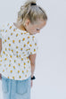 Girl Lemon Side Knot Tee
