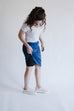 'Alexa' Athletic Skort in Deep Sea Blue
