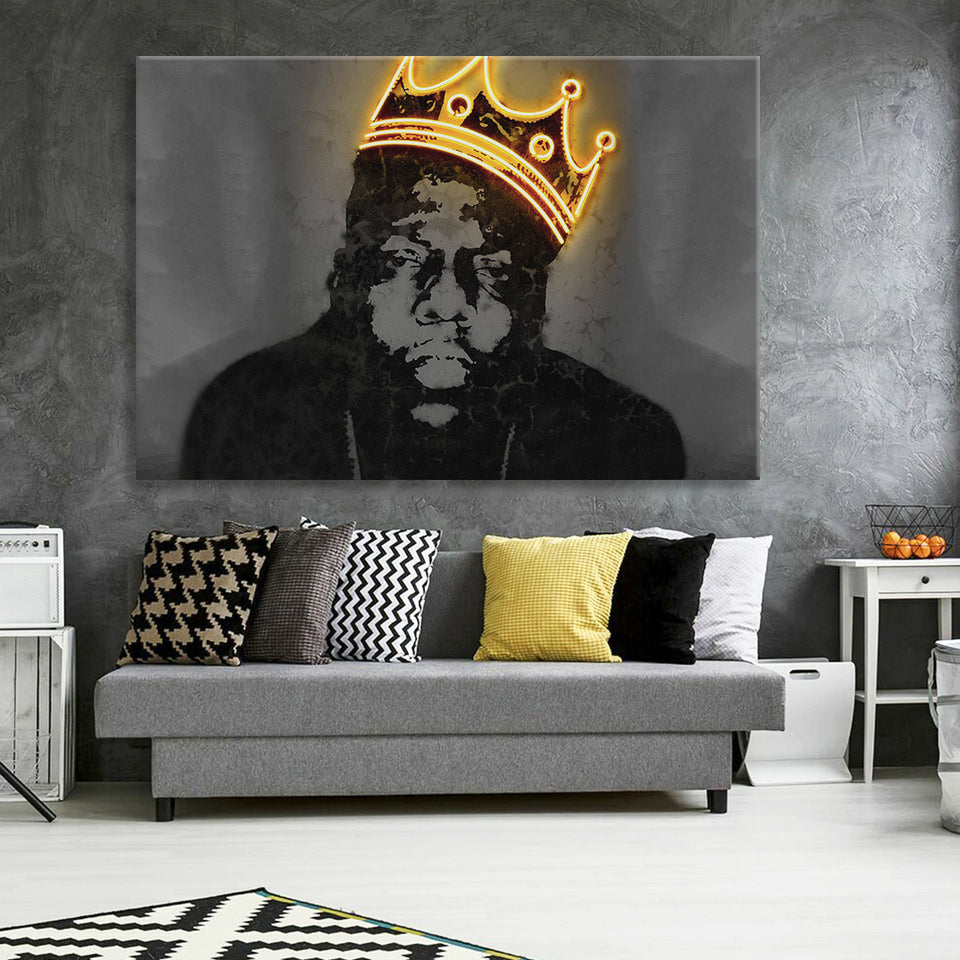 The Notorious B.I.G Canvas