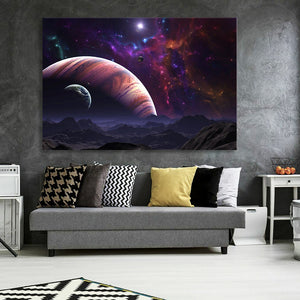 Jupiter At Large Canvas
