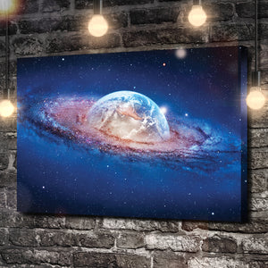 Into The Galaxy Canvas