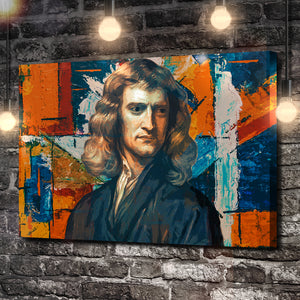 The God of Modern Physics Canvas