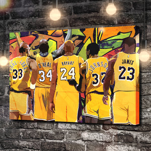 The LA Legends Canvas