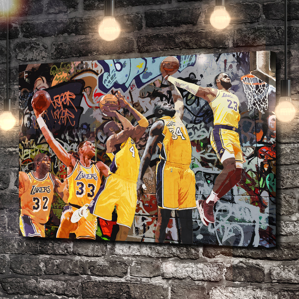 LA Dunk Kings Canvas