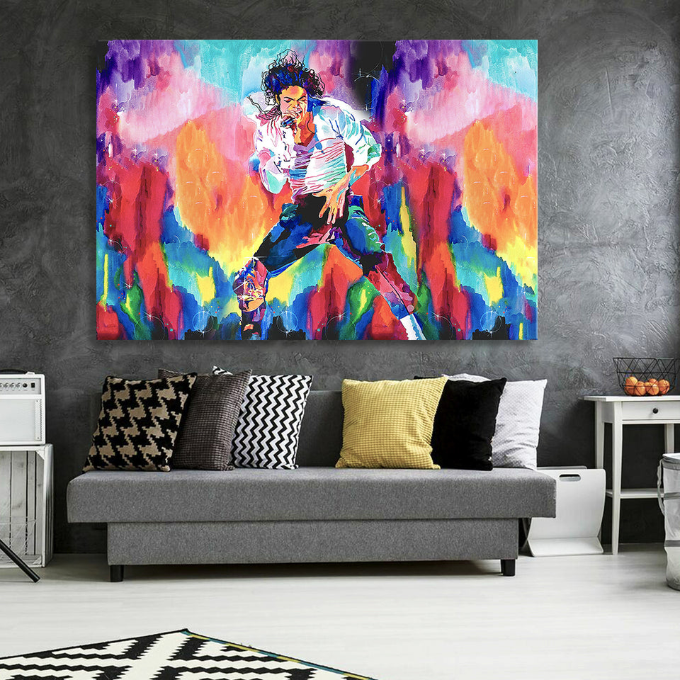 Billie Jean Canvas