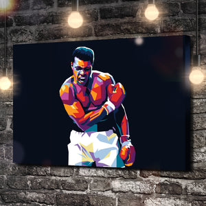 The Greatest Boxing Champion Canvas