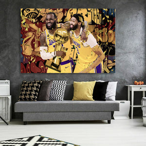 2020 NBA Champions Canvas