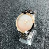 Gold Two Tone Vintage Guess Steel Watch