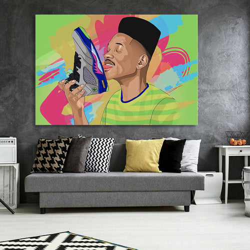 The Freshest Prince Canvas