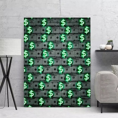 Dollars Canvas