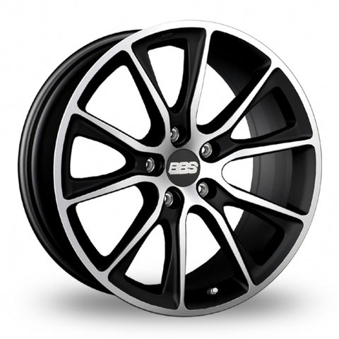BBS SV Black Polished Wider Rear 22 Inch Set of 4 alloy wheels