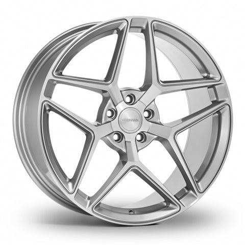 VEEMANN VC650 Silver Polished Wider Rear 20 Inch Set of 4 alloy wheels