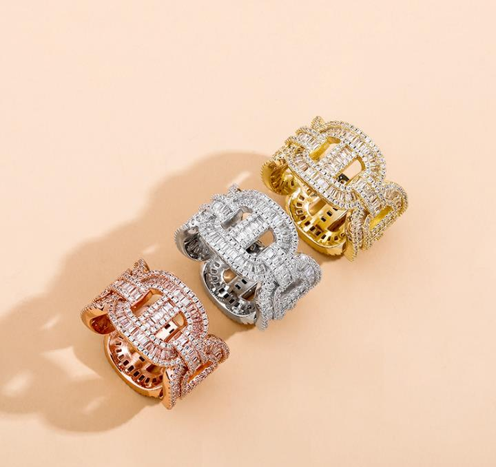 Chunky Designer Cubic Zirconia Statement Ring