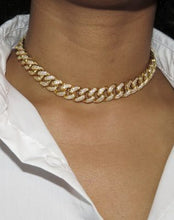 Load image into Gallery viewer, Iced-Out Havana Cuban Link Necklace
