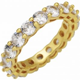Wifey Stackable Eternity Band