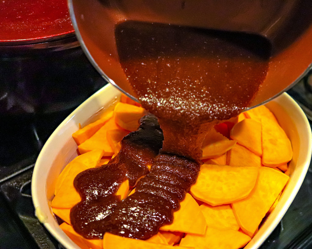 Easy Southern Black People Style Candied Yams Sweet Potatoes