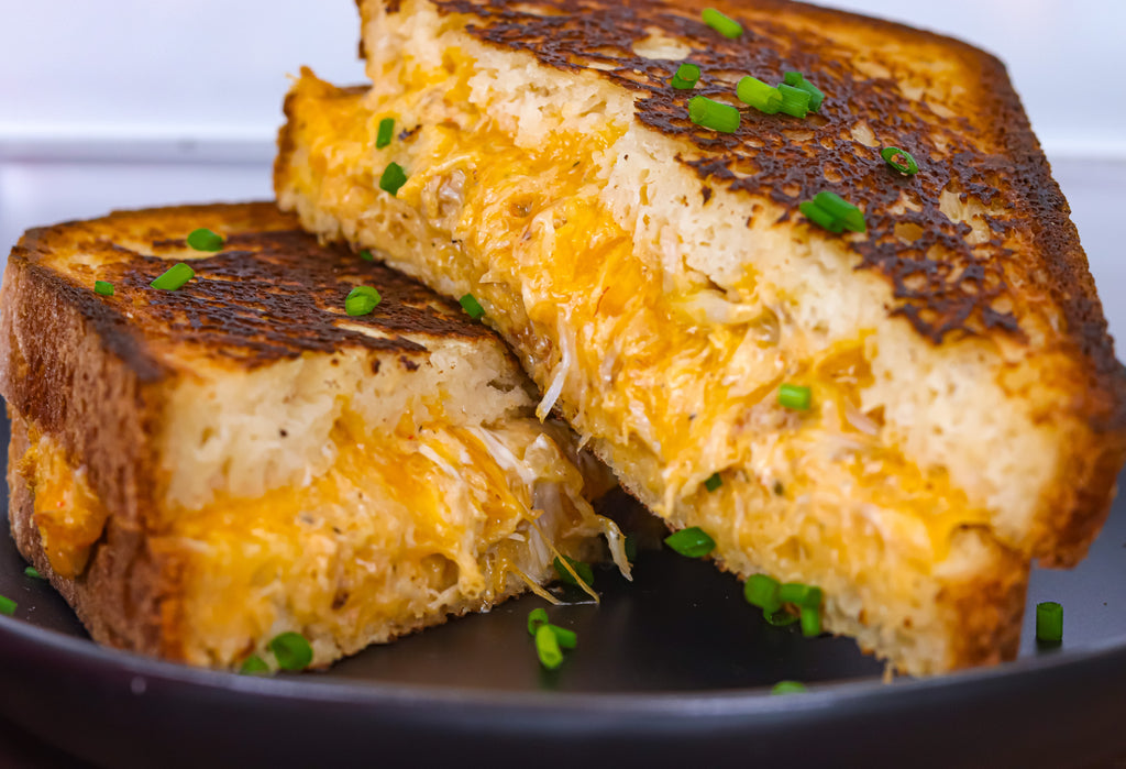 Crab and Bacon Stuffed Grilled Cheese Gluten Free How to Make the Best Grilled Cheese Sandwich
