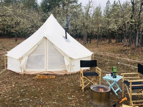 Life inTents CPAI-84 Compliant BELL Tent