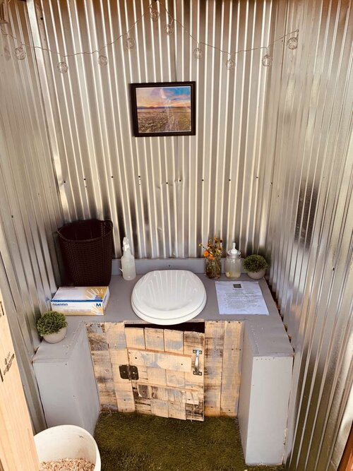 compost toilet for camping