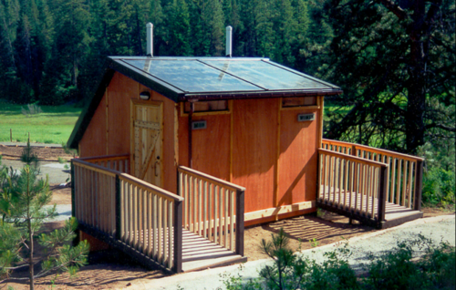 Phoenix Composting system in use