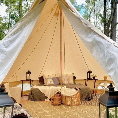 canvas holiday tent