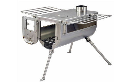 Winnerwell double view tent stove