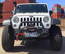 Load image into Gallery viewer, Carbon 12K 12000lb Electric 4wd winch with synthetic rope