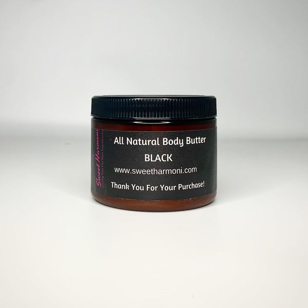 Black All Natural Body Butter